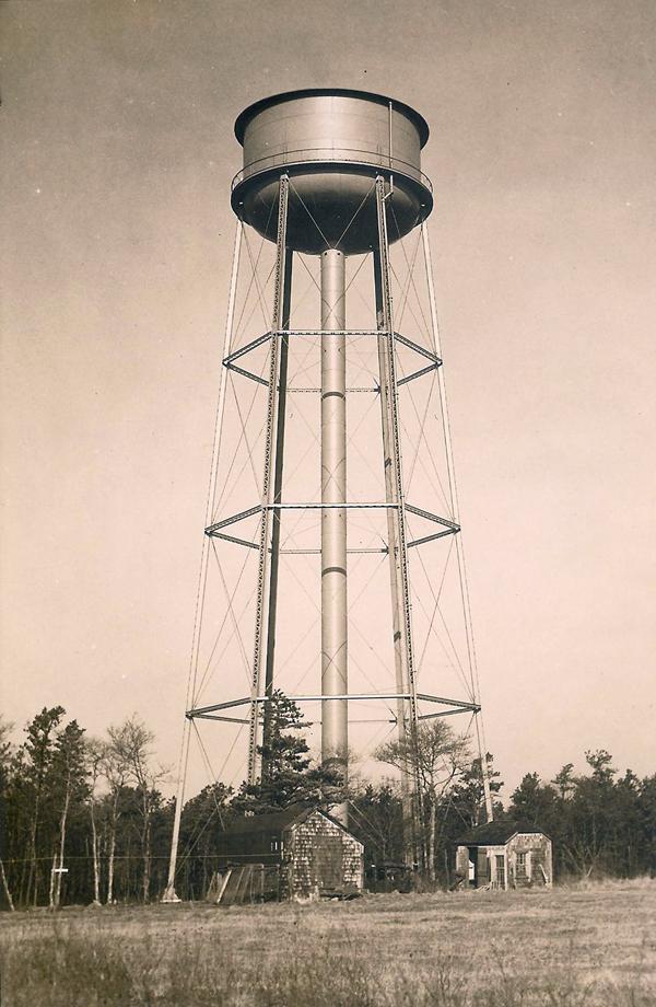 Demolish Water Tower : Main street water tower demolished barnstableprecinct